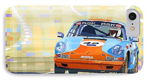 Porsche 911 S  Classic Le Mans 24  IPhone Case