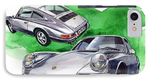 Porsche 911 Stainless Steel Body IPhone Case