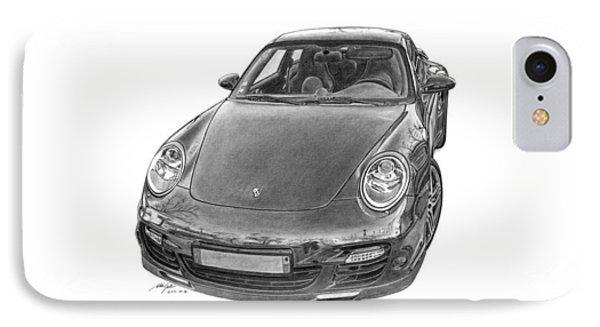 Porsche 911 Turbo Phone Case by Gabor Vida