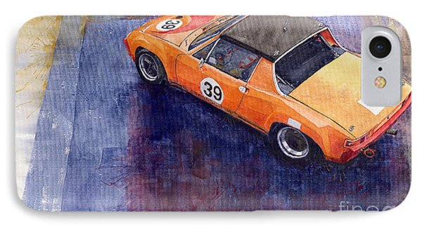 Porsche 914 Gt IPhone Case by Yuriy  Shevchuk