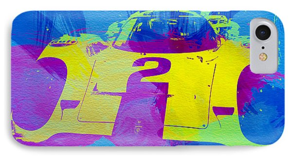 Porsche 917 Front End IPhone Case by Naxart Studio