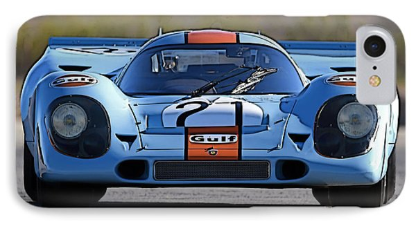 Porsche 917 Shorttail IPhone Case by Thomas M Pikolin