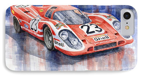 Porsche 917k Winning Le Mans 1970 IPhone Case