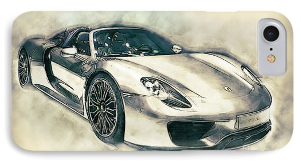 Porsche 918 Spyder IPhone Case