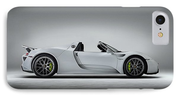 Porsche 918 Spyder IPhone Case by Douglas Pittman