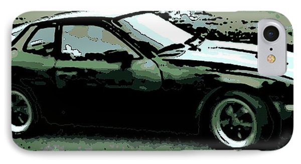 Porsche 944 On A Hot Afternoon IPhone Case by George Pedro