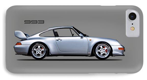Porsche 993 IPhone Case by Mark Rogan