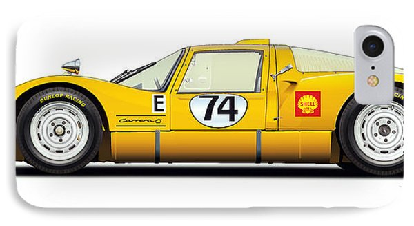 Porsche Carrera 906 Illustration IPhone Case