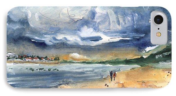 Port Alcudia Beach 03 IPhone Case by Miki De Goodaboom