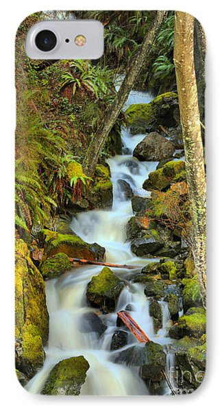 Port Alice Cascades IPhone Case by Adam Jewell