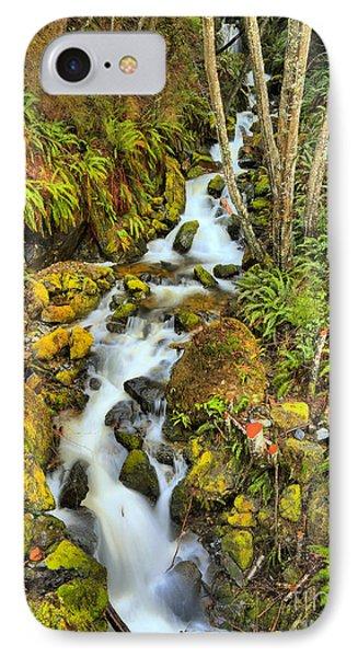 Port Alice Wilderness Waterfall IPhone Case by Adam Jewell