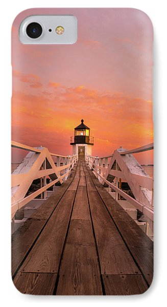 Port Clyde Maine - Marshall Point IPhone Case by Thomas Schoeller