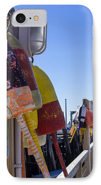 IPhone Case featuring the photograph Port Clyde Pier by Dick Botkin
