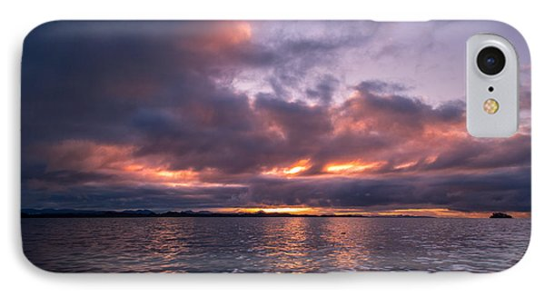 Port Hardy Sunrise IPhone Case by Michael J Bauer
