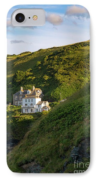 IPhone Case featuring the photograph Port Isaac Homes by Brian Jannsen