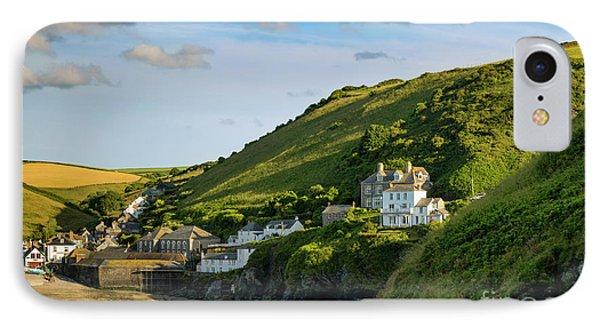 IPhone Case featuring the photograph Port Issac Hills by Brian Jannsen
