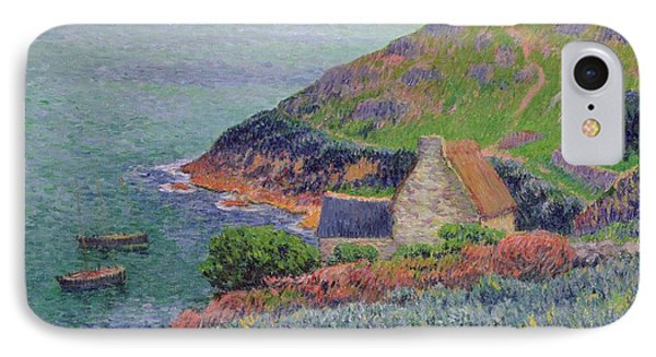 Port Manech IPhone Case by Henry Moret