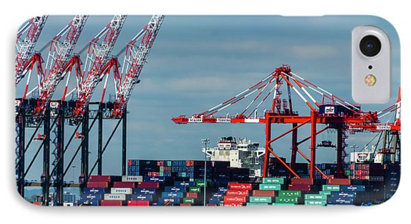Port Newark Container Terminal IPhone Case