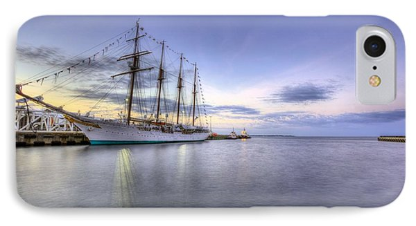 Port Of Call Pensacola IPhone Case by JC Findley