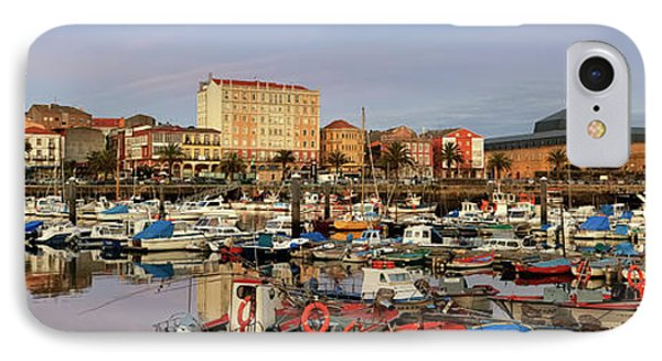 IPhone Case featuring the photograph Port Of Ferrol Galicia Spain by Pablo Avanzini