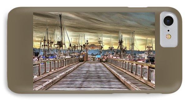 Port Of Newport - Dock 5 IPhone Case by Thom Zehrfeld