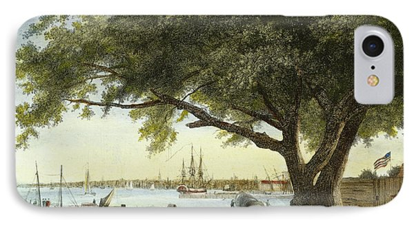 Port Of Philadelphia, 1800 Phone Case by Granger