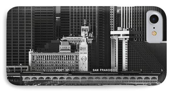 Port Of San Francisco Phone Case by Mick Burkey