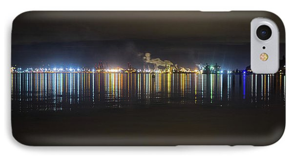 Port Of Tacoma Lights IPhone Case