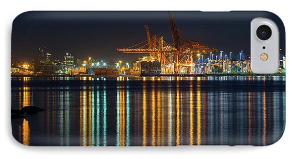 Port Of Vancouver In British Columbia Canada Phone Case by David Gn