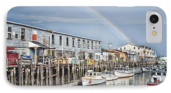 IPhone Case featuring the photograph Port Rainbow by Richard Bean