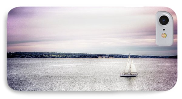 IPhone Case featuring the photograph Port Townsend Sailboat by Spencer McDonald