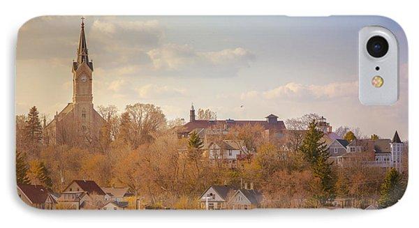 Port Washington Skyline IPhone Case by James  Meyer