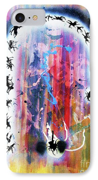 Portal Of Beginning Again IPhone Case by Roberto Prusso