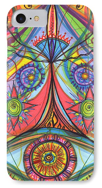 Portal Of Desire IPhone Case by Daina White