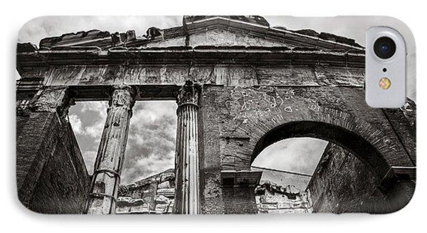 Porticus Octaviae In Rome IPhone Case