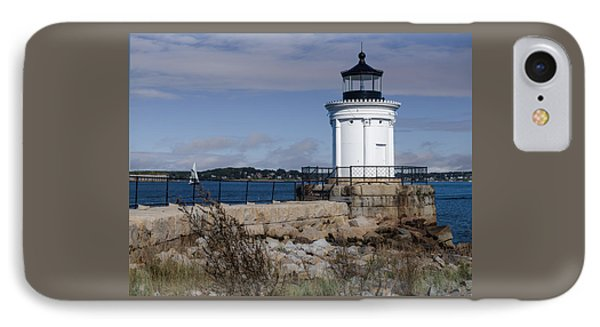 Portland Breakwater Lighthouse, Maine IPhone Case by Capt Gerry Hare