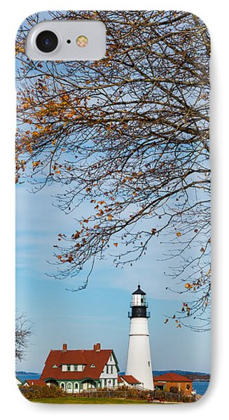 Portland Head Afternoon IPhone Case by Darren White