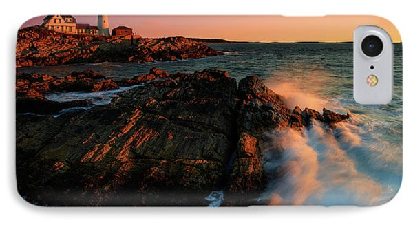 IPhone Case featuring the photograph Portland Head First Light  by Emmanuel Panagiotakis