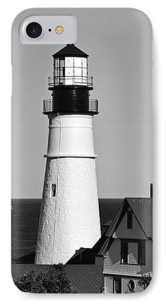 Portland Head Light No. 103-1 IPhone Case by Sandy Taylor