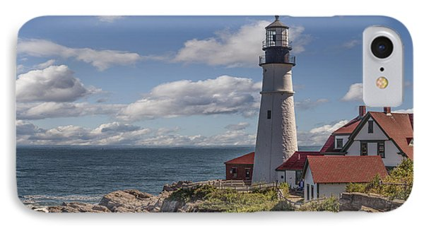 Portland Head Light IPhone Case by Capt Gerry Hare