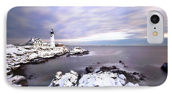 Portland Head Light IPhone Case by Eric Gendron