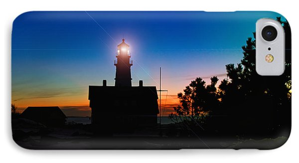Portland Head Light - Maine IPhone Case by Joann Vitali