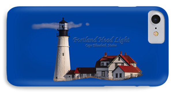 Portland Head Light No. 43 IPhone Case by Mark Myhaver