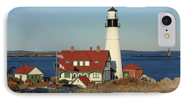 Portland Head Lighthouse 2 IPhone Case by Lou Ford