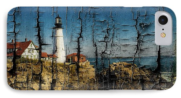 Portland Head Lighthouse 5 IPhone Case by Sherman Perry