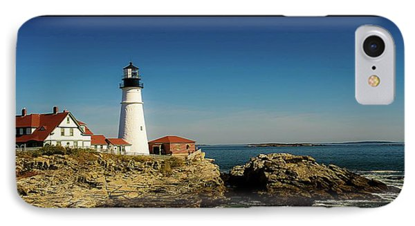 Portland Head Lighthouse 7 IPhone Case by Sherman Perry