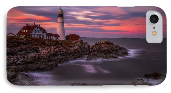 Portland Head Sunset IPhone Case by Darren White
