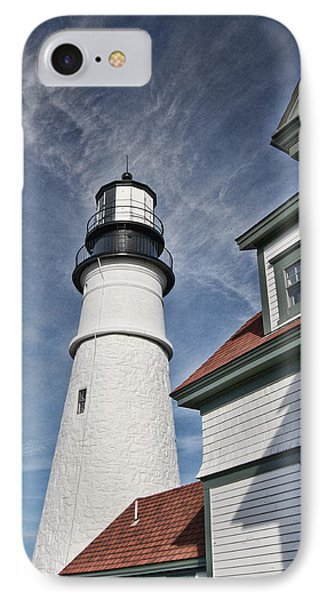 IPhone Case featuring the photograph Portland Headlight Partial by Kim Wilson