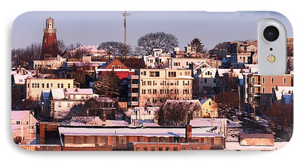 Portland Munjoy Hill Panorama IPhone Case by Eric Gendron