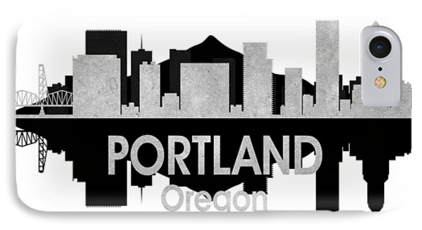 Portland Or 4 Squared IPhone Case by Angelina Vick